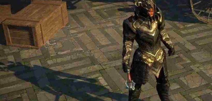 POE Unique Armor